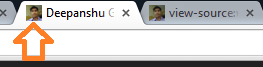 After changing favicon