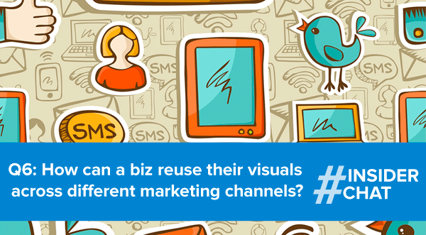 Reuse visual across different channels