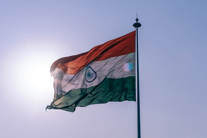 happy independence day india flag