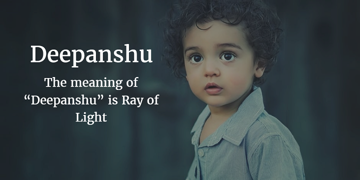 deepanshu meaning