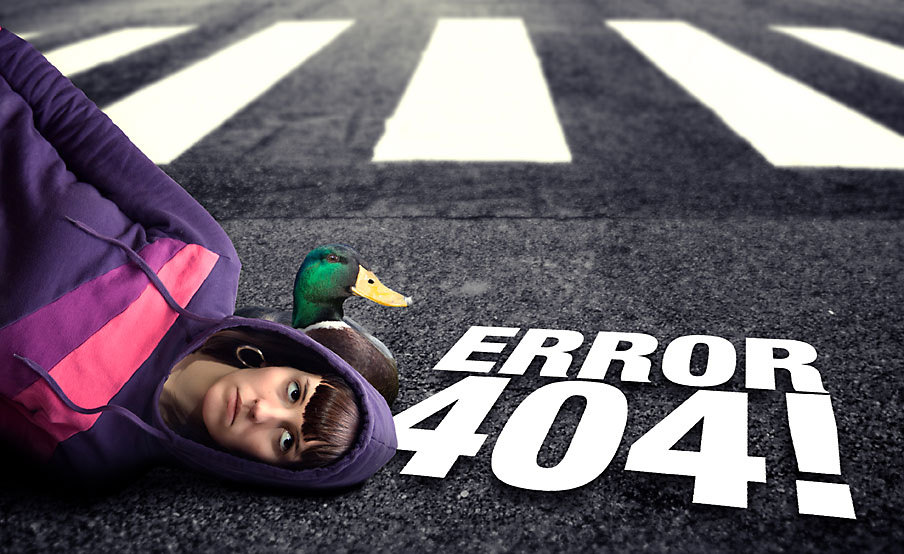 homepage 404 how to fix