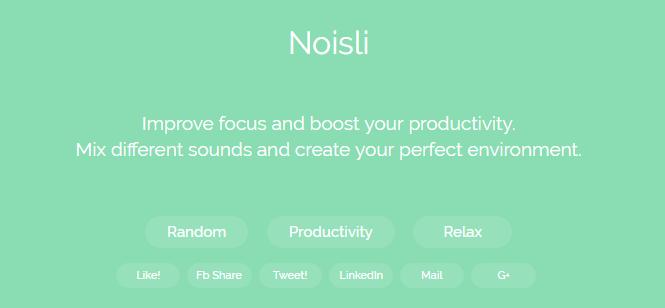 noisli music