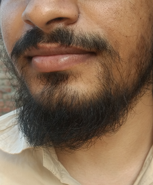 me with beard -deepanshugahlaut