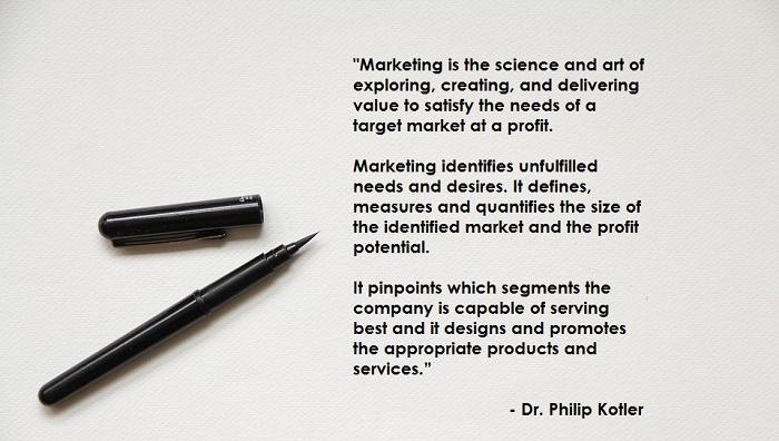 marketing definition by philips kotler